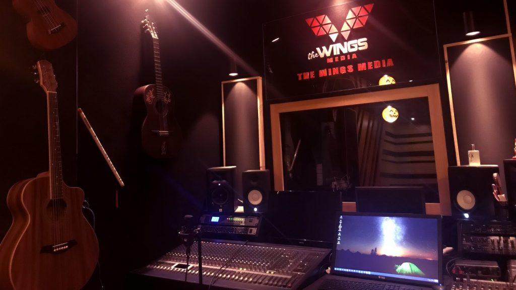 The Wings Media - Phòng thu âm chuyên nghiệp tại TPHCM